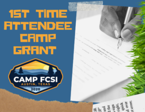 First Time Attendee Camp Grant